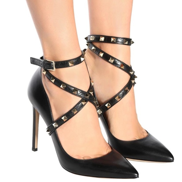 Valentino Shoes - Valentino Rockstud with Strap. Pumps